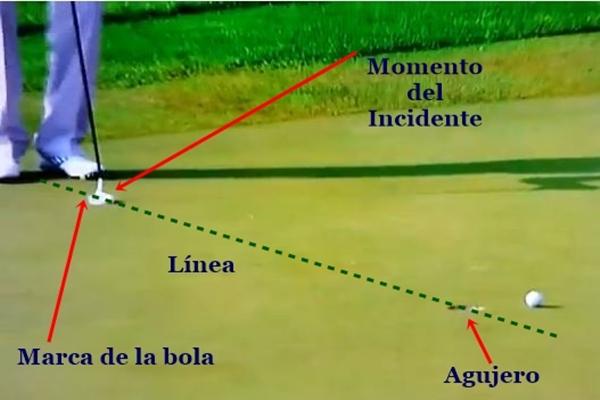 Sergio García incidente 2