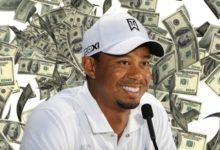 Woods ganó 7.890 dólares al día desde que nació