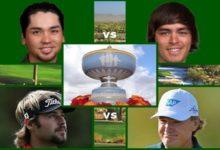 Cuatro hombres en busca de la Walter Hagen Cup y del más de 1'5 millones de dólares