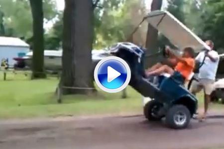 Este VÍDEO con todo tipo de accidentes de golf arrasa en la red