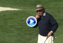 Los amateurs también juegan: en 2013 el mejor golpe en Peable Beach lo dio, ¡Andy García! (VÍDEO)