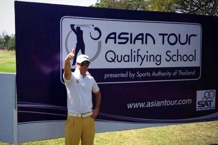 Antonio Hortal es uno de los diez jugadores inscritos en la Escuela del Asian Tour. Foto: Antonio Hortal vía Twitter