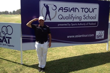 Carlos Balmaseda Asian tour