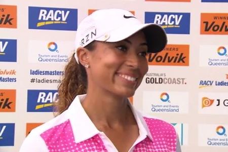 Cheyenne Woods hace honor a su apellido y se impone en el Ladies Masters de Australia