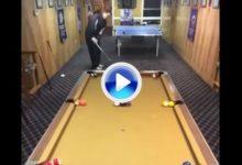 Beisbol, ping-pong, billar, futbolín y… golf (CRÓNICA+VÍDEO)