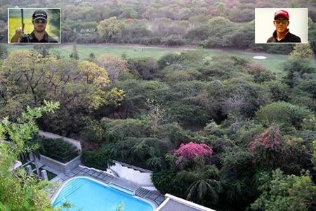 Vistas del Delhi Golf Club Carlos Pigem y Javi Colomo 450