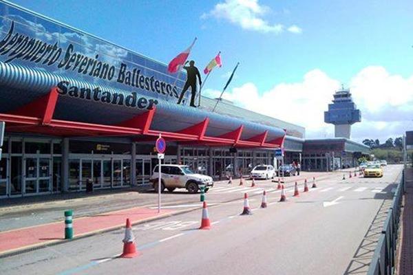 Aeropuerto Santander Seve Ballesteros