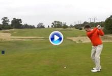 Golf Monthly retó a seis jugadores del Tour diestros a jugar el drive a zurdas. No es tan fácil (VÍDEO)