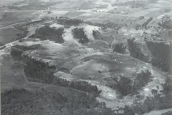 La finca del Augusta National en 1930
