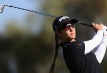 Azahara Muñoz trata de tú a Royal Birkdale, solo 9 jugadoras bajo par en el Women's British Open