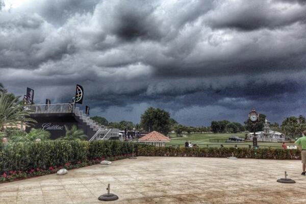 El cielo no pinta nada bien en Doral. Foto: Adidas