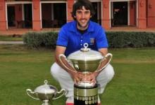 Daniel Berna, brillante campeón de la Copa de S.M. El Rey