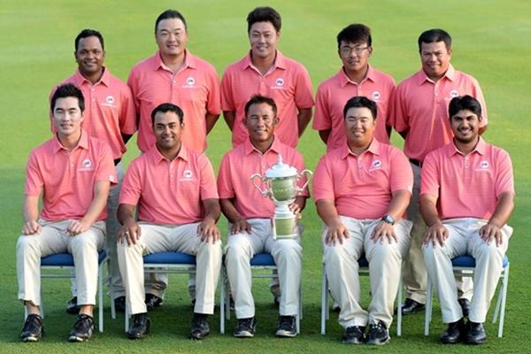 Equipo Asiático EurAsia Cup Foto European Tour