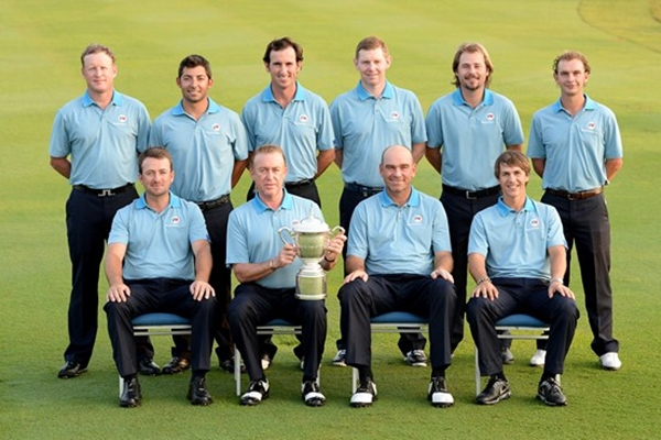 Equipo Europeo EurAsia Cup Foto European Tour