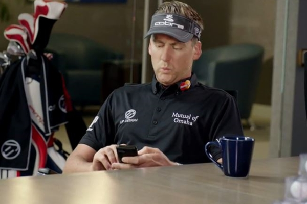 Ian Poulter Commercial Twitter
