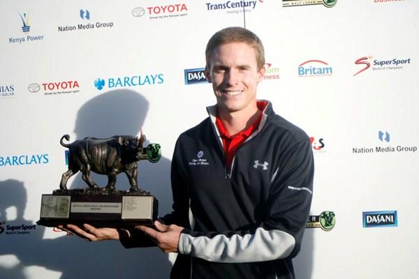 Jordi García Pinto defiende titulo en el Kenia Open. Foto: European Tour