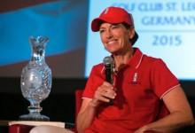 Julie Inkster designada capitana estadounidense en la Solheim Cup de 2015