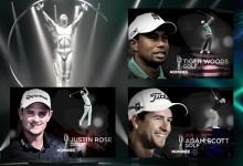 Tiger Woods, Justin Rose y Adam Scott, golfistas nominados a los premios Laureus 2014