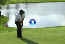 Golpe del Día: Patrick Reed se dejó ver con este gran chip en el Arnold Palmer Invitational