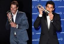 Nadal y Márquez derrotaron a Tiger, Scott y Rose en los premios Laureus 2014