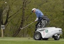 """Arranca el """"EDGA-Terramar Open"""" con los mejores golfistas de Europa en silla de ruedas en el campo"""