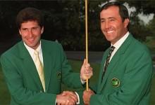 Seve y Olazábal, únicos campeones españoles en la historia del Masters. Sepa cómo nació este Grande