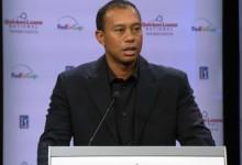 Tiger no desvela si estará en el Masters a poco más de dos semanas de su comienzo