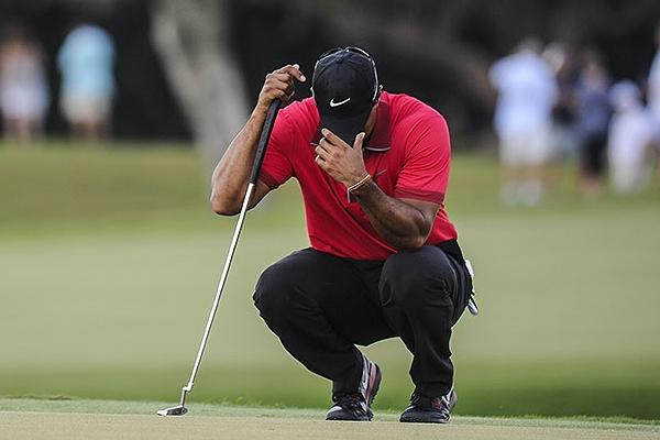 Tiger Woods durante el pasado Cadillac Foto PGA Tour