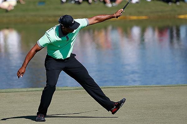 Tiger Woods Foto: vía Twitter