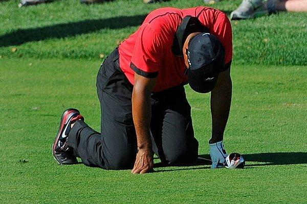 Tiger Woods Foto vía Twitter