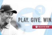 Tiger Woods se embarca en una nueva propuesta solidaria