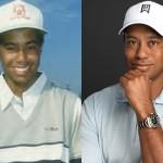 Tiger Woods de niño