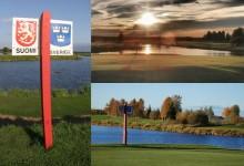 El Green Zone Golf Club: Un campo enclavado en dos países con 24 horas de sol al día para jugar al golf