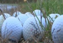 Bolas de golf aparecen de forma misteriosa en un aeropuerto de Tennessee