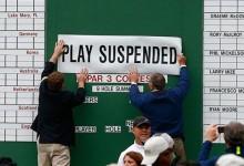 La seguridad y el tiempo motivó el cierre del Augusta National este lunes