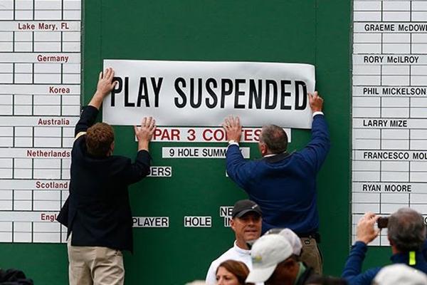 El Augusta National se cerró al público. Foto: Augusta National