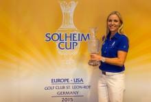 La sueca Carin Koch capitaneará al equipo europeo de la Solheim Cup 2015