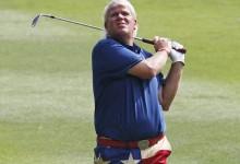 John Daly trasladado en ambulancia a un hospital tras caer desplomado en un campo de golf