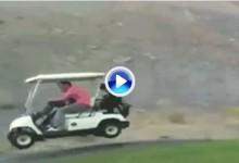 Cuidado: Aparatoso accidente de buggie por no respetar la velocidad (VÍDEO)