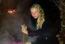 ¿Fue el conjuro de la «bruja» Wozniacki la responsable de los 78 de McIlroy? (Ver Foto en Interior)