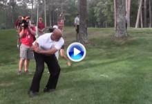 El swing de Charles Barkley no hay quién lo arregle. Esta fue su última aparición (VÍDEO)