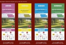 No te pierdas el mayor espectáculo de golf en España y descárgate las entradas del Open (Aquí)