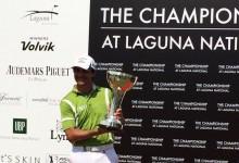 Felipe Aguilar tuvo el final perfecto en Singapur, el soñado por cualquier jugador de golf
