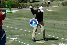 Este es el Swing a cámara lenta del campeón chileno Felipe Aguilar (VÍDEO)