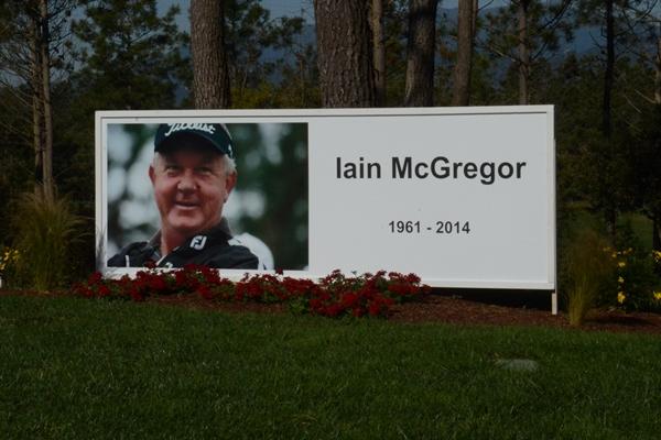 Ian MacGregor Homenaje