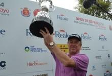 Miguel Ángel Jiménez acrecienta su leyenda. Campeón del Open de España 2014
