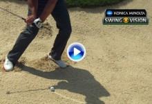 La cámara super lenta examinó el golpe de Paul Casey desde el bunker (VÍDEO)