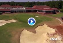 """El """"nuevo"""" Pinehurst 2 a vista de pájaro. Así se jugará el US Open 2014 (VÍDEO)"""