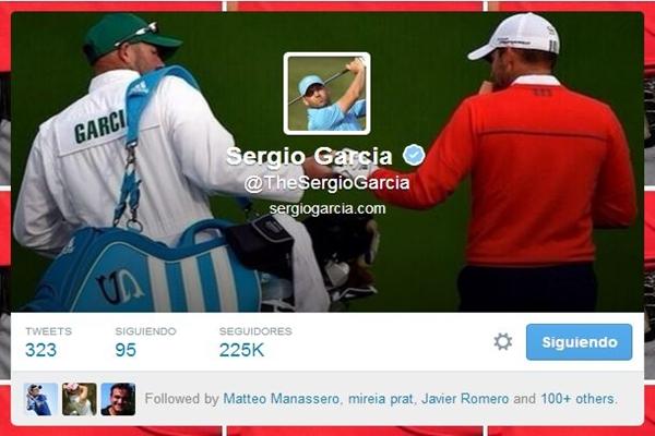 Sergio García Twitter