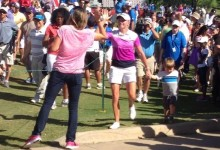 Stacy Lewis ganó por goleada el North Texas LPGA Shootout